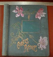 Couverture Ancien Album Cartes Postales - Photography