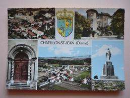 26 - Cpsm Grand Format - CHATILLON-SAINT-JEAN -  Multivues - Sonstige Gemeinden