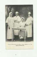 06- NICE - Guerre 14 -18 - Groupe De L'observatoire Du Mont Blanc Hopital Militaire 17 Beau Plan Soignant Trés Bon état - Health, Hospitals