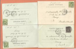 64 Bayonne  Lot 4 Cpa Cachet  1900 ... - 1877-1920: Période Semi Moderne