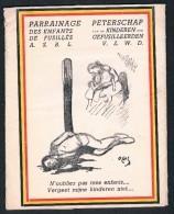 Pochette 6 Buvards Vendus Au Profit De L'oeuvre De Parrainage Des Enfants De Fusillés Asbl, Illustration De Jacques OCHS - Non Classés