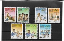6010x: Guinea Bissau, Serie Aus 1983, LA 1932 Gestempelt Auf Steckkarte - Sommer 1932: Los Angeles