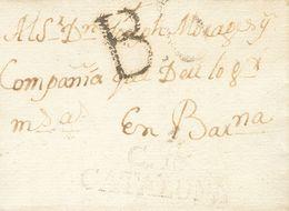 1806. CAMPRODON A BARCELONA. Marca C.10.- / CATALUÑA, De Camprodón (P.E.1) Edición 2004. MAGNIFICA Y RARA. - Sin Clasificación