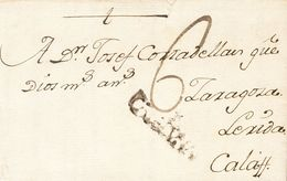 1796. HORTA A CALAF. Marca CATALUÑA, En Tinta De Escribir De Horta (P.E.1) Edición 2004. BONITA Y MUY RARA. - Unclassified