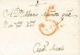 1794. ARANJUEZ (MADRID) A CIUDAD REAL. Marca CASTILLA / LANVEVA, En Tinta De Escribir De Aranjuez (P.E.1) Edición 2004.  - Sin Clasificación