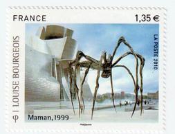 """TIMBRE -  2010  - Série Artistique , Louis Bourgeois  -  N° 4492  -       """"maman Araignée Géante""""    Neuf Sans Charnière - Frankreich"""