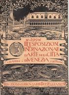 """09030 """"III ESPOSIZIONE INTERNAZIONALE D'ARTE DELLA CITTA' DI VENEZIA 22.04 - 31.10 1899"""" VOLANTINO ORIGINALE - Pubblicitari"""
