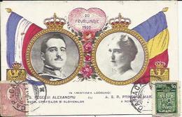 20 Fevruarie 1922 , S.A.S REGELUI ALEXANDRU , IN AMINTIREA LOGODNEI CU , A.S.R. PRINCESA MARIE - Roumanie