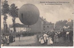 Souvenir De L' Inauguraton De L' Eclairage Au Gaz De La Commune D' Alsemberg - Luchtballon - 1910 - Beersel