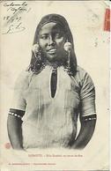 DJIBOUTI , Fille Dankali En Tenue De Fête , 1907 - Djibouti