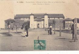 SETE(CETTE) :T.RARE CPA DE 1913.ENTREE DU CASINO D ETE .ANIMEE.ETAT.TRES CORRECT.A SAISIR.T.B.COTE PETIT PRIX.COMPAREZ!! - Sete (Cette)