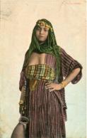 BELLE FILLE ARABE - CLICHE RARE - - Algérie