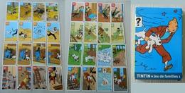 Jeu De 7 Familles Sans Règles - Tintin - Hergé - Moulinsart - Dupont Et Dupond - Tournesol Tryphon - Haddock - Milou - Other