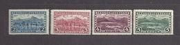 Czechoslovakia 1927 MNH ** Mi 263-266 Sc 137-140 Hradcany At Prague And Great Tatra. Tschechoslowakei - Tchécoslovaquie