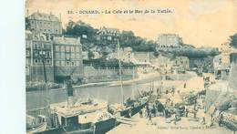 Cpa -   Dinard - La Cale Et Le Bec De La Vallée     , Animée    H464 - Dinard