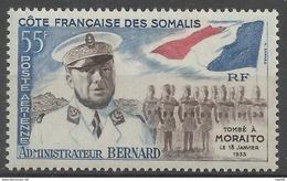 SOMALIS - Administrateur Bernard - 1960 - PA 27 - Neuf - Somalia (1960-...)