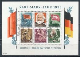 DDR Block 8/9 A/B Gestempelt Geprüft Paul Mi. 660,- - [6] République Démocratique