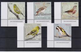GREECE STAMPS 2014/SONGBIRDS OF GREECE-20/3/14-MNH-COMPLETE SET - Grèce