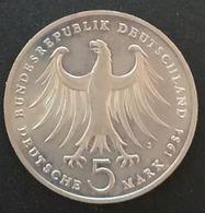 ALLEMAGNE - GERMANY - 5 MARK 1984 - Felix Mendelssohn - Bartholdy - KM 161 - [ 7] 1949-… : RFA - Rep. Fed. Tedesca