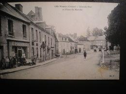 St Vaury Grande Rue Et Place Du Marche - France