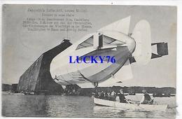 Zeppelin's Luftschiff Neues Modell Einfahrt In Seine Halie 1909 - Allemagne