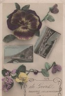 GIVET /  DE GIVET RECEVEZ CE SOUVNIR  1912 - Givet