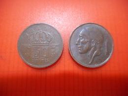 Belgique - 50 Centimes - 1953  - BELGIE - 1951-1993: Boudewijn I