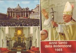 Cartolina Anno Santo Della Redenzione 1983 - Non Viaggiata - Altri