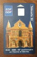 CARTE RECTO FRANCE EDF GDF VERSO TELEFONICA ARGENTINA DISNEY SANS PUCE PHONECARD TELECARTE CARD - Argentinien