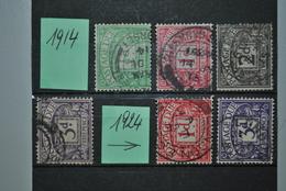 Grande-Bretagne 1914/24 Timbres-taxe Oblitérés - Taxes