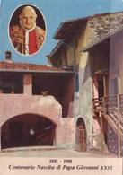 Cartolina Centenario Nascita Di Papa Giovanni XXIII - 1881 / 1981 - Viaggiata - Altri