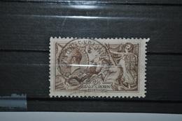 Grande-Bretagne 1912 Y&T 153 Oblitéré Papier Sale - 1902-1951 (Kings)