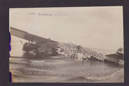 CPA Aviation Carte Photo RPPC Non Circulé Amérissage De L'América Calvados Ver Sur Mer - 1919-1938: Interbellum