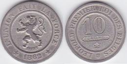 Lot 007  BELGIQUE LEOPOLD Ier   10 CENTIMES  ANNEE 1862 TYPE CUPRO-NICKEL - 1831-1865: Leopold I