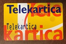 CARTE RECTO PRIVÉE PUBLIQUE LA VIE VERSO SLOVÉNIE TÉLÉCARTE PHONECARD CARD - Slowenien