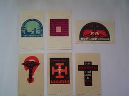 6 X IMAGE Ancienne 1940 : LOUVETEAU - JEANNETTE / LUCERNA ARDENS - Vieux Papiers