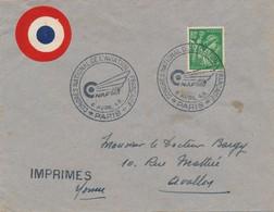 J71 - Marcophilie - Congrès National De L'Aviation - 6 Avril 1945 - Air Post