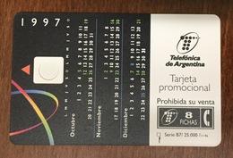 CARTE RECTO ARGENTINA VERSO FRANCE PRIVÉE PUBLIQUE FLEURY MICHON SANS PUCE PHONECARD TELECARTE CARD - Argentina