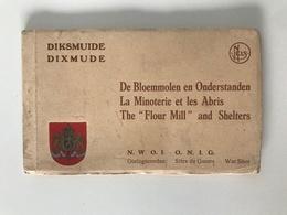 Album De 10 Cartes-vue Détachables   DIKSMUIDE - DIIXMUDELa Minoterie Et Les Abris - De Bloemmolen En Onderstanden - Militaria