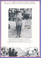 FRANCE - CARTE  OBLITERATION GNL LECLERC MARECHAL DE FRANCE NOV.87 STRASBOURG - Guerre Mondiale (Seconde)