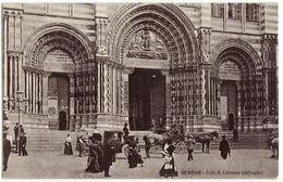 GENOVA - CATTEDRALE S. LORENZO - ANIMATA - NON VIAGG. - - Genova