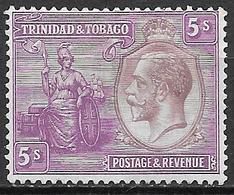 Trinidad& Tobago 1922 S.G No. 228 - Trinidad & Tobago (...-1961)