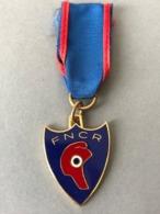 Médaille F N C R  (Provenant Du Cadre  Fabriqué  Par Le Propriétaire Qui  était Sculpteur JT... - Médailles & Décorations