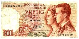 Billet >  Belgique >  50 Francs 1966 - [ 2] 1831-... : Reino De Bélgica