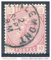 D - [DEL-244-12]TB//-N° 38 Obl Tirlemont TB Nipa +50 - 1883 Leopold II
