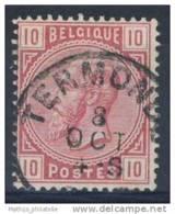 D - [DEL-244-14]TB//-N° 38 Obl Termonde TB Nipa +70 - 1883 Leopold II