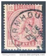 D - [DEL-248-1]TB//-N° 38 Obl Turnhout Nipa +60 - 1883 Leopold II