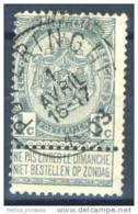 D - [DEL-258-2]TB//-N° 53 Obl Poperinghe TB Nipa +80 - 1893-1907 Coat Of Arms