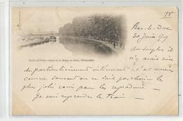 55 Meuse  Bar Le Duc 1899 Canal De La Marne Au Rhin , Débarcadère - Bar Le Duc