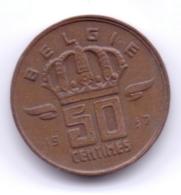 BELGIE 1957: 50 Centimes, KM 149 - 1951-1993: Baudouin I